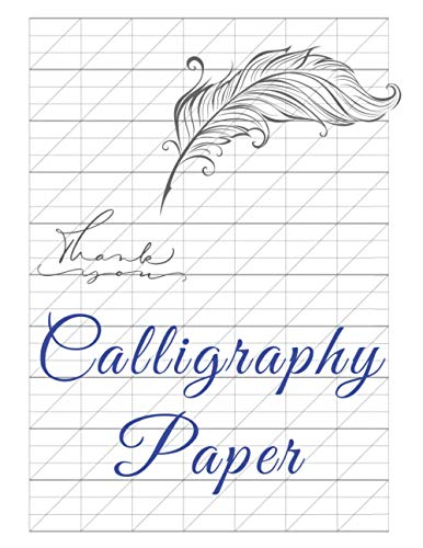 Calligraphy Papier: Lettering practice sheets for begginers left handers (MyMagical Note)