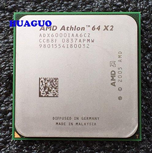 AMD Athlon 64X26000+ procesador CPU de Doble núcleo de 3GHz adx6000iaa6cz, 2MB, Socket AM2, 125W