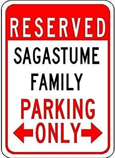 Sagastume Family Parking - Customized Last Name - 7