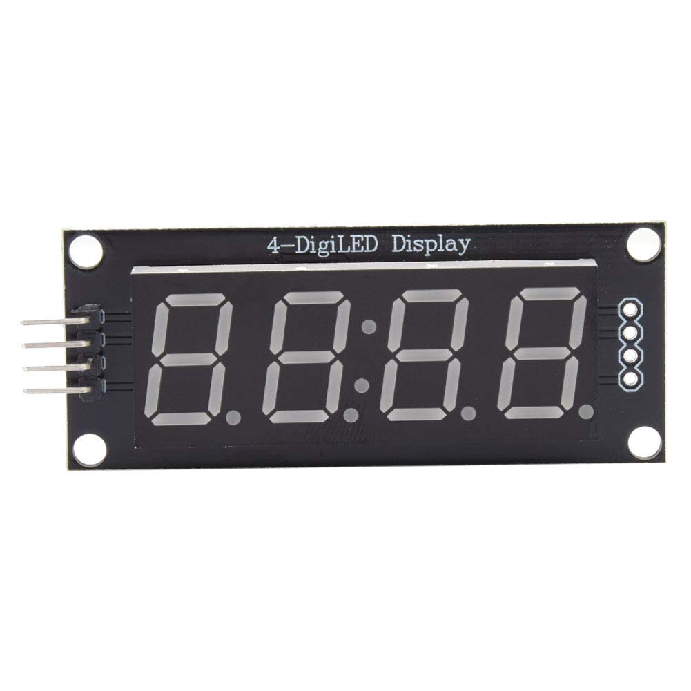 Digital 4-Digit 2 Max 62% OFF Pins LED Display for Arduino Use Library Discount is also underway D