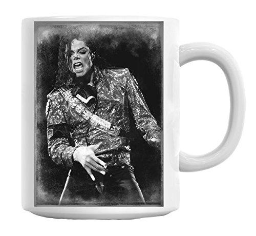 Michael Jackson MJ King Of Pop Mug Cup