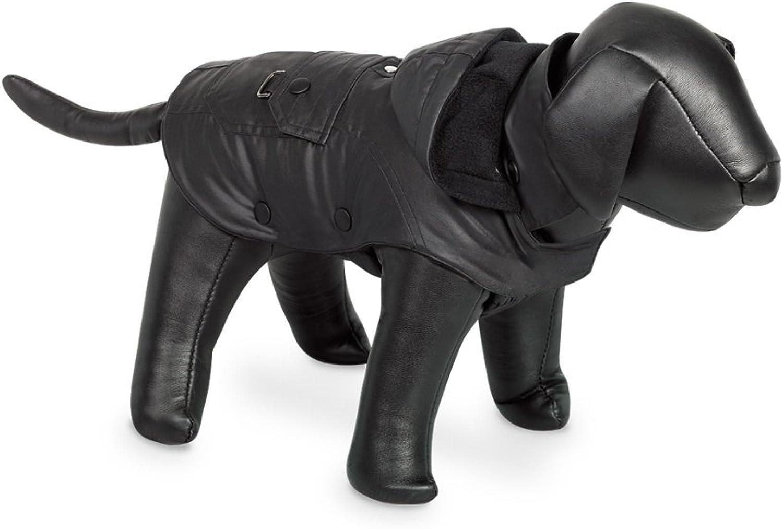 Nobby Mellow Hooded Dog Coat (11.5in) (Black)