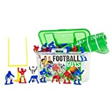 Kaskey Kids Football Guys: Red vs. Blue  Inspires Imagination with Open-Ended Play  Includes 2 Full Teams and...