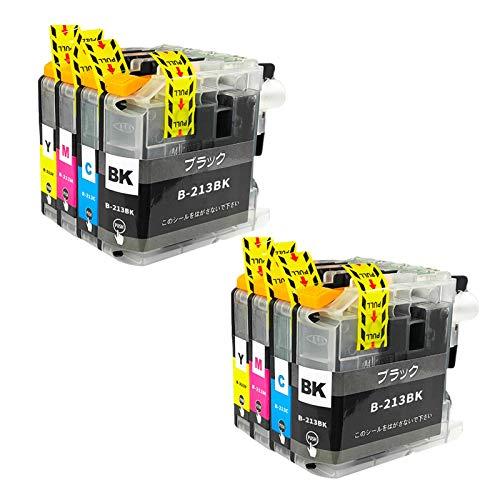 LC213 Cartuchos de tinta, de alto rendimiento para Brother DCP-J4220N-B/W MFC-J4720N J5720CDW, compatible con impresoras de inyección de tinta, 4 colores combinados x 2
