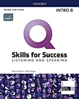 Q: Skills for Success: Intro Level: Listening and Speaking Split Student Book B with iQ Online Practice