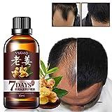 Aesy 30ML Huile Essentielle de Cheveux Naturel, Densificateur de cheveux, La Pousse des Cheveux Hair Growth Essence Treatment