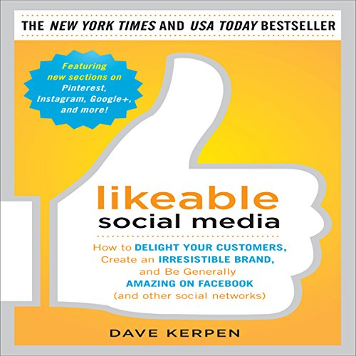Likeable Social Media audiobook cover art