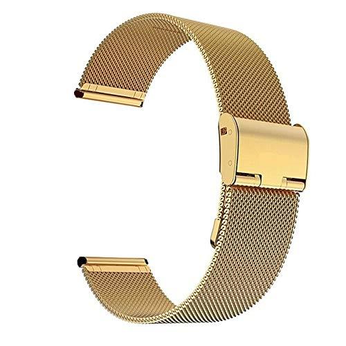 ZAALFC Milanese - Correa de repuesto para reloj inteligente Huawei Watch GT 2 Pro (22 mm), color plateado