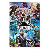 For_tnite Poster Battle Royale Videospiel-Drucke auf Stoff