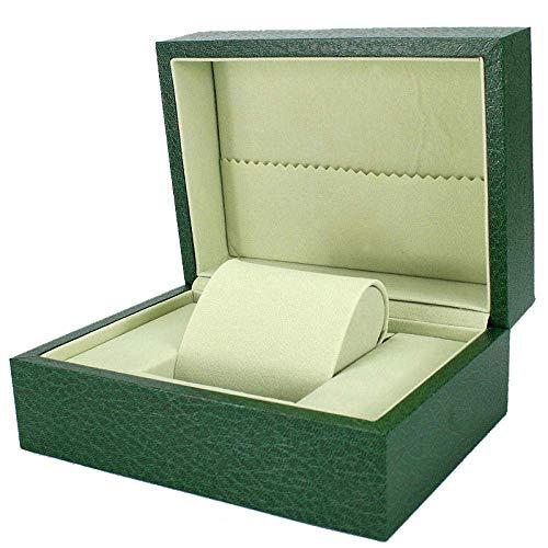 Panduo YLB Reloj Box Hombre Joyas Cajas Mujeres Scense Gift Faux Cuero Joyería Caja de Almacenamiento 8 * 13.3 * 8.5cm