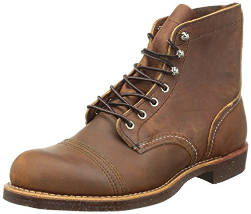 Red Wing Heritage Iron Ranger 6-Inch Boot, Copper Rough & Tough, 8...