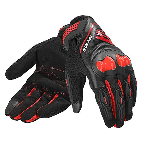 Motorcycle Gloves Full Finger for Road Racing Bike summer Spring Motorcycle Powersports Durable Gear Support Touch Screen