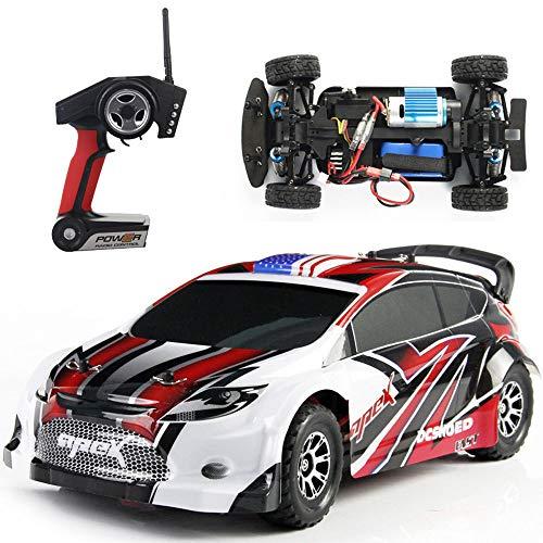 Weaston 2.4G Drift RC Car 1:18 Model Remote Control Car 4WD con absorción de Impactos Vehículo Todoterreno RC 30km / h Fast Racing Adult Entry Level RC Toy Gift