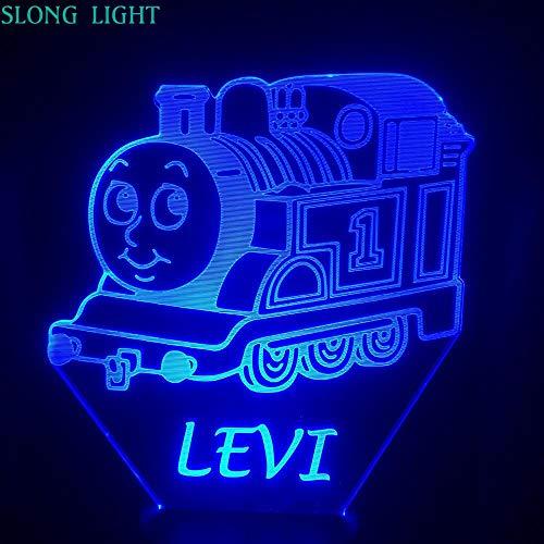 Sanzangtang Led-nachtlampje, 3D-vision-zeven, kleuren-afstandsbediening, voor vrienden, cartoon, decoratieve verlichting, kamerdecoratie, baby, nachtlampje, slaapkamer, nachtlampje, kinderen