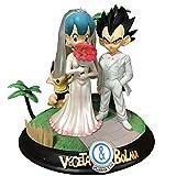 CXNY 26 cm Dragon Ball Z Vegeta Bulma Casarse con Trunks Figura de acción PVC Nueva colección Figura...