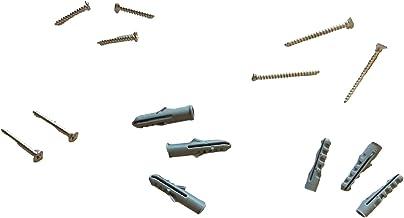 Pluggenset van gehard staal, 42 stuks, accessoires voor beslag.