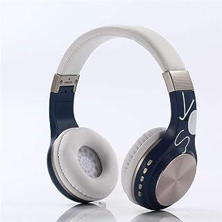 Wireless Bluetooth Headphones Stereo Foldable Headphones Active Noise Cancelling Headphone Earphone Over Ear Deep Bass for PC/Cell Phones/TV,E