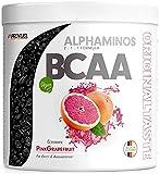 BCAA Pulver 300g - TESTSIEGER - ALPHAMINOS BCAA 2:1:1 - Das ORIGINAL von ProFuel   Essentielle Aminosäuren   Unfassbar leckerer Geschmack (Pink Grapefruit)