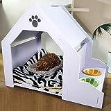 Fundas para perreras y cajones Muebles for Mascotas Pet Sala de Sun Sola Puerta y la Puerta Doble Plegable cajones del Perro |Totalmente Equipado Casetas y Cajas para Perros
