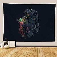 爆発性宇宙飛行士タペストリーホームハンギングクロス-FGT10205_95 * 73cm
