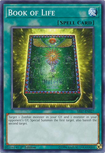Yu-Gi-Oh! - Book of Life - SR07-EN027 - Common - 1st Edition - Structure Deck: Zombie Horde