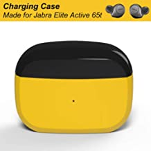 Charging Case Compatible with Jabra Elite 65t and Jabra Elite Active 65t(Charger Case Only, Earbuds not Included), Earbuds Protective Substitute Cover with Built-in Battery