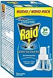 Raid - Liquido de recambio para Repelente de mosquitos electrico, 30 Noches 30 ml - Pack de 3 (Total 90 ml)