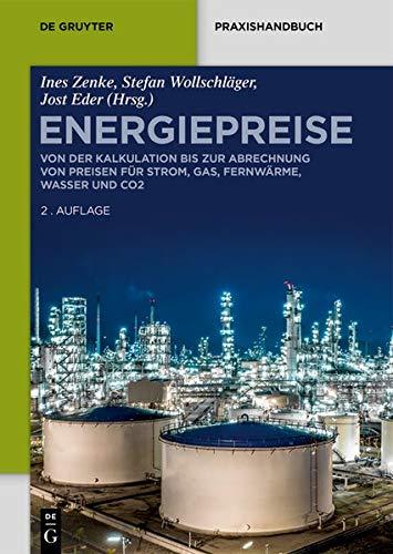 Energiepreise: Von der Kalkulation bis zur Abrechnung von Preisen für Strom, Gas, Fernwärme, Wasser und CO₂ (De Gruyter Praxishandbuch)