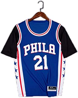 PLXS Customized Basketball T-Shirt Fashion Casual Basketball One-Piece Jersey & Sleeve DIY Your Number and Name
