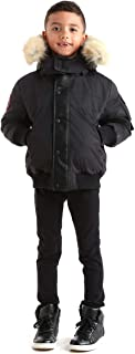 Ovstyn Boys Down Jacket with Real Coyote Fur