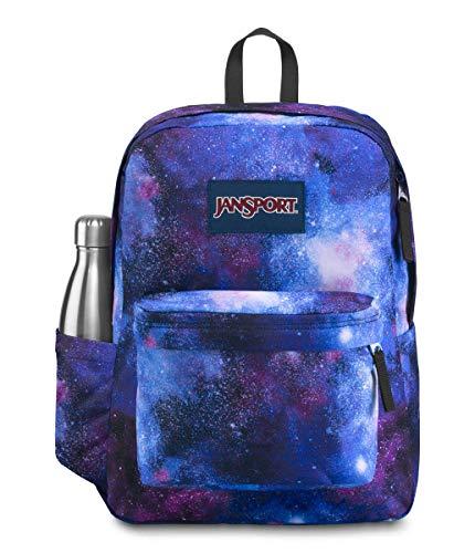 JanSport Mochila SuperBreak – Librería para escuela, viajes o trabajo con bolsillo para botella de agua, espacio profundo
