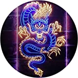 ADVPRO Chinese Dragon Room Display Dual Color LED Barlicht