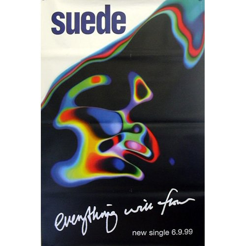 Suede - Poster gigante Everything will flow