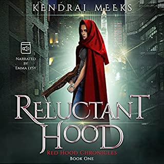 Reluctant Hood audiobook cover art