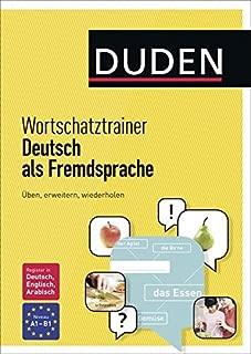 Duden Wortschatztrainer Deutsch als Fremdsprache (German Edition)