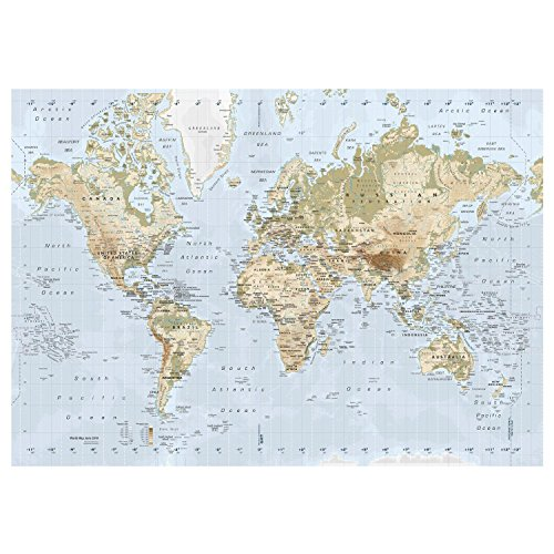 Where to buy New Ikea Premiar World Map Picture with Frame/canvas ...