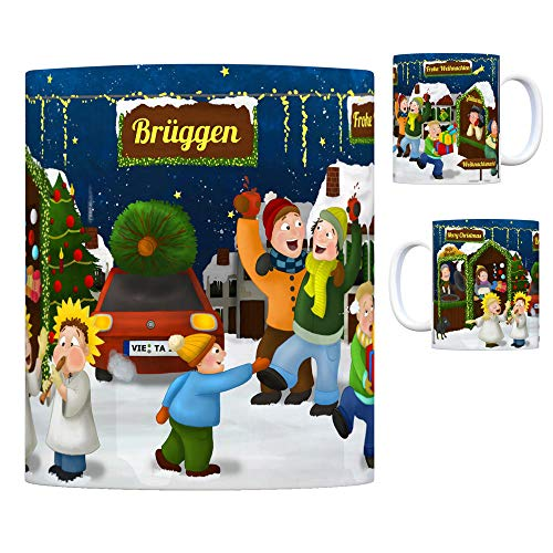 trendaffe - Brüggen Niederrhein Weihnachtsmarkt Kaffeebecher