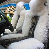 PG Pure Wolle Auto Kissen Winter Auto Liefert Vier Jahreszeiten Gemeinsamen Sitz Kissen Sitzbezug -