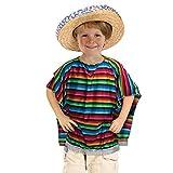 Bristol Novelty CC320 Mexican Poncho Costume,...