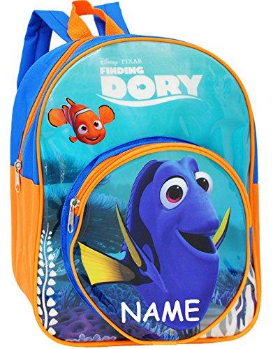 alles-meine.de GmbH Kinder Rucksack -  Disney - Findet Nemo / Fisch Dory  - incl. Name - Tasche - wasserfest & beschichtet - Kinderrucksack / groß Kind - Mädchen - Jungen - z.B..