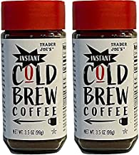 Trader Joe's Instant Cold Brew Coffee - 100% Arabica Beans Two Pack