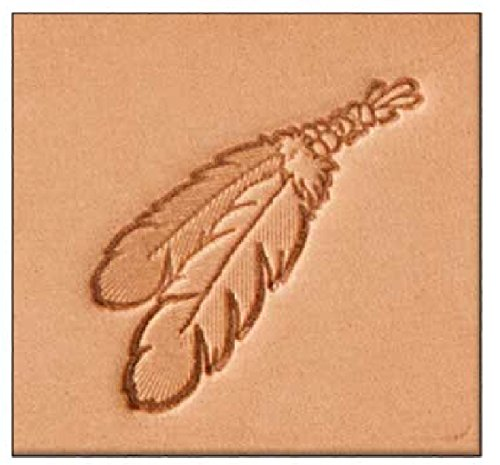 Tandy Leather 3d Stamping Tool 2 Feather