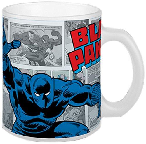 Marvel Semic Distribution - Smug081 - Ameublement Et Décoration - Mug Retro - Série 2 - Black Panther