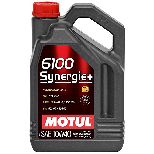 Motul 101493 Motoröl 6100 Synergie Plus 10W-40 5 L