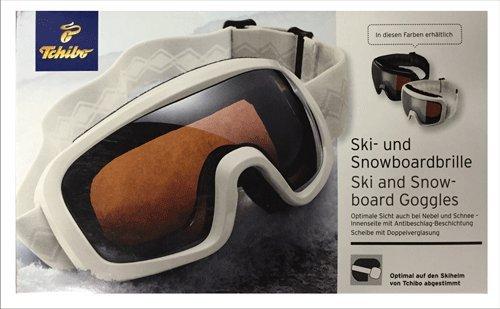 TCM Tchibo Ski- und Snowboardbrille, Antibeschlag Beschichtung, 100{93b3a12ed69ea3c925f4b3d9251f22b8550c8f96741f6eb0bbb7d4ffdd3739ed} UVSchutz