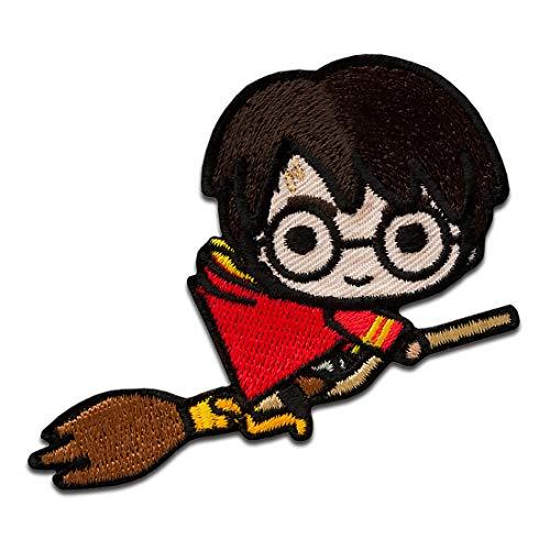Harry Potter © sulla scopa - Toppe termoadesive Patch Toppa ricamate