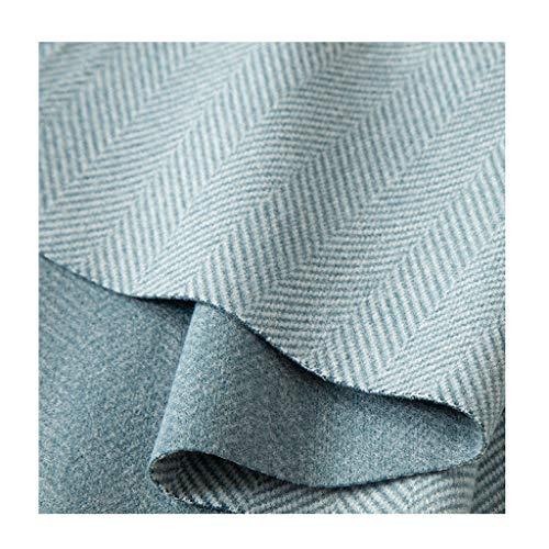 Wollfilz Wollstoff Stoff Wolle Einfarbig Kleidung Kleidung Mantel Hose Imitation Wolle Einseitige Windjacke Jacke 150cm Breite NIU