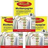 Aeroxon - Mottenpapier - 3x20 Stück - gegen Motten