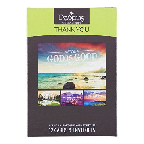 Thank You - Inspirational Boxed Cards - God Is Good Photo #5