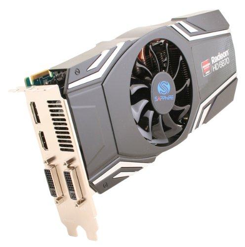 SAPPHIRE Radeon HD6870 1024MB GDDR5 LRTL PCI-E 256bit DL-DVI-I SL-DVI-D HDMI DisplayPort aktiv
